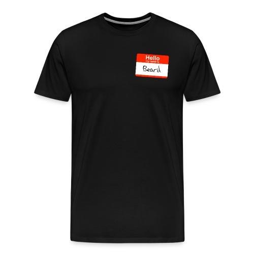 Hello Beard - Mannen Premium T-shirt