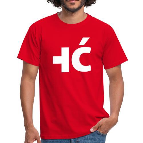Männer T-Shirt  |  ić SCHWEIZ - KROATIEN - Männer T-Shirt