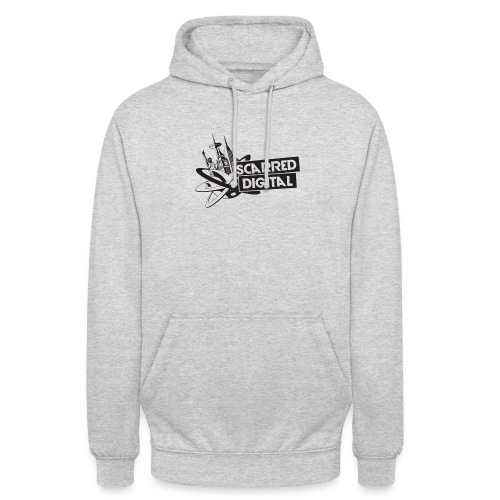 NEW Scarred Digital Unisex Hoodie - Unisex Hoodie