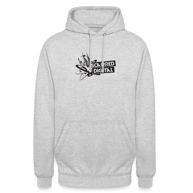 NEW Scarred Digital Unisex Hoodie