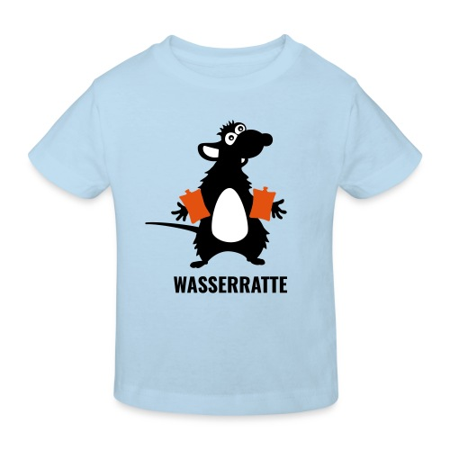 Wasserratte - Kinder Bio-T-Shirt