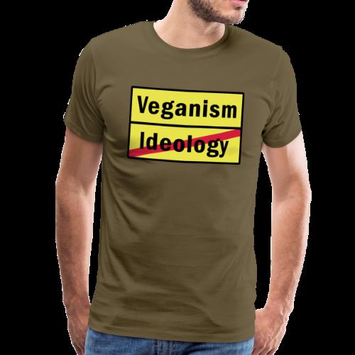 Veganism VS. Ideology - Männer Premium T-Shirt