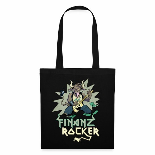 Shopping Bag Finanzrocker - Stoffbeutel