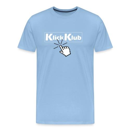 KlickKlub Logo Shirt 1 - Männer Premium T-Shirt
