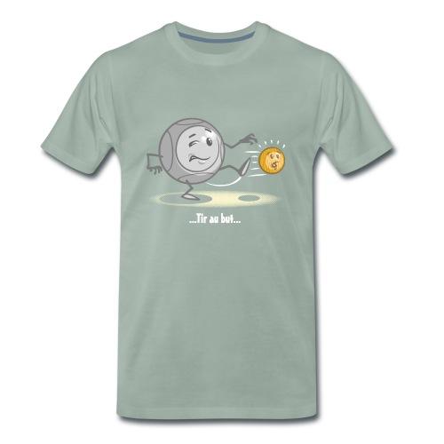 Tir au but à la pétanque - T-shirt Premium Homme