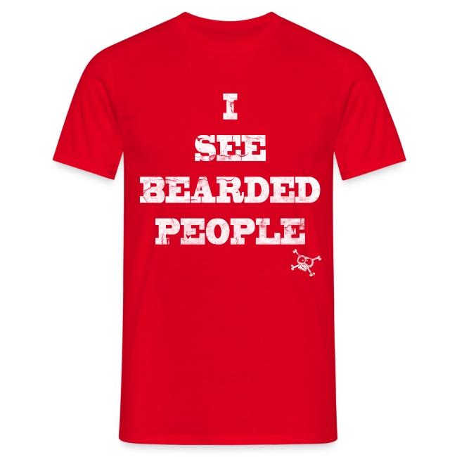 I see bearded people