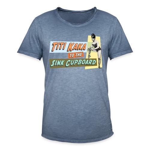 Titikaka vintage  - Mannen Vintage T-shirt