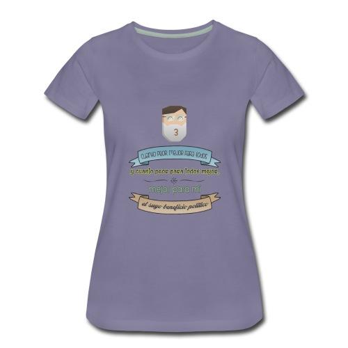 Cuanto peor, mejor - Camiseta premium mujer