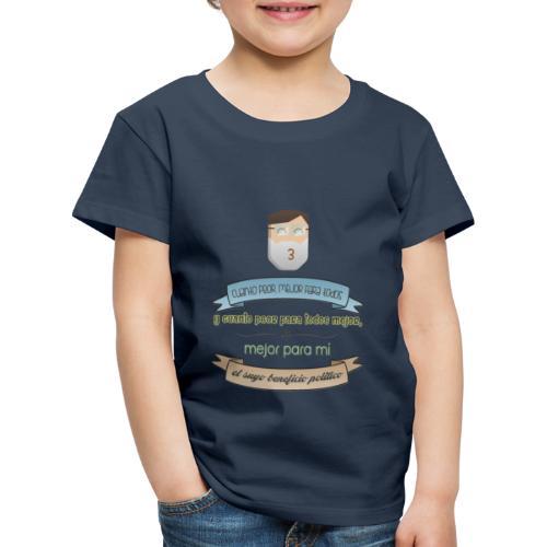 Cuanto peor, mejor - Camiseta premium niño