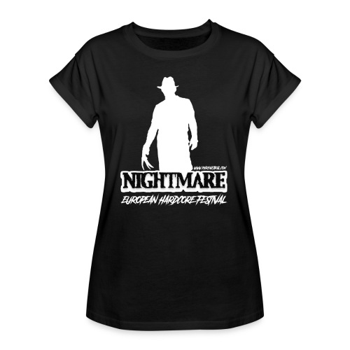 NIGHTMARE 2018 - WOMAN [M-PHK116]  - Women's Oversize T-Shirt