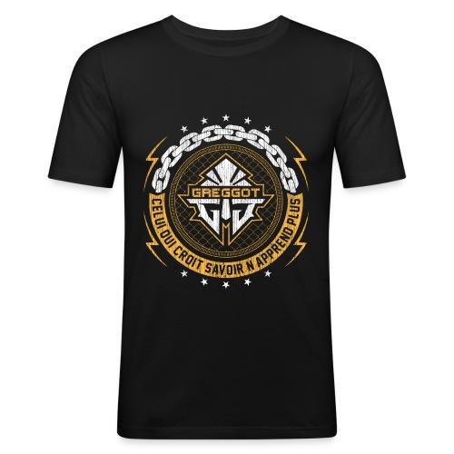 T-Shirt FIT - Celui qui croit savoir - T-shirt près du corps Homme