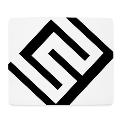 Vit Musmatta med CW Logo - Musmatta (liggande format)
