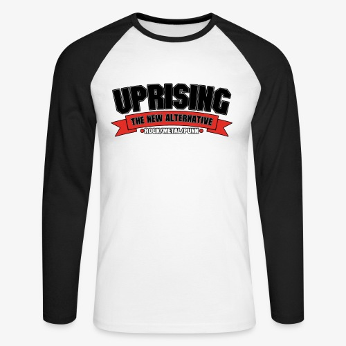 Uprising Baseball T-Shirt - Men's Long Sleeve Baseball T-Shirt
