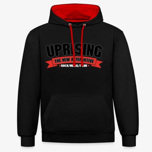 Uprising Pullover Hoodie - Contrast Colour Hoodie