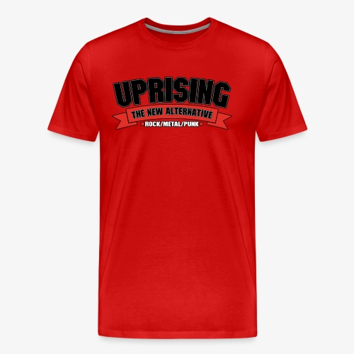 Uprising Shirt (Red) - Men's Premium T-Shirt