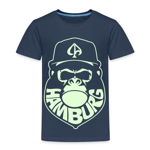 Navy/Glow (Kids) 040 - Kinder Premium T-Shirt
