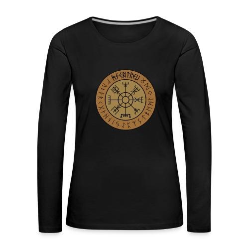 Asentreu Vegvisir Frauen Longsleeve - Frauen Premium Langarmshirt