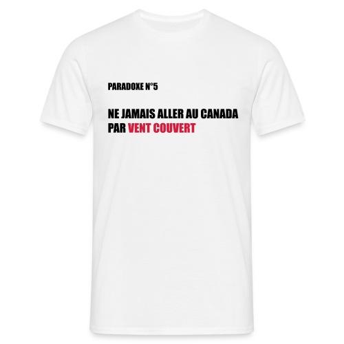 paradoxe québécois - T-shirt Homme