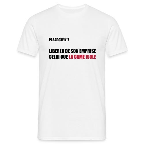 paradoxe de l'addiction - T-shirt Homme