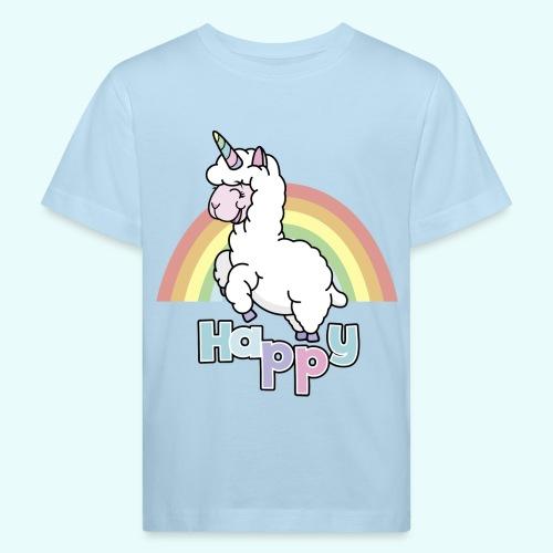 Happy Lama by myLilimals - Kinder Bio-T-Shirt