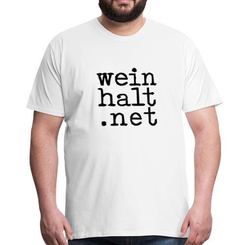 weinhalt.net, ♂-Shirt - Männer Premium T-Shirt