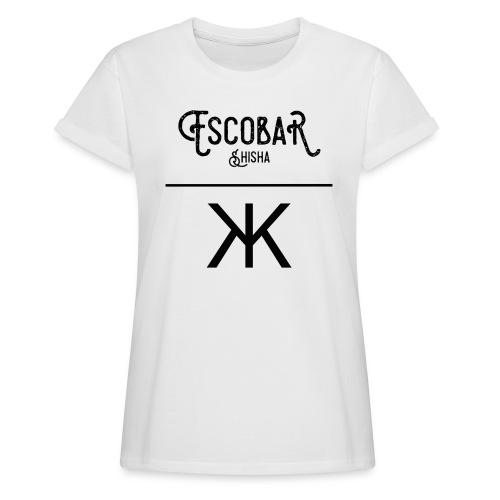 ESCOBAR X KEVKEV CLOTHING OVERSIZE LOGO SHIRT WOMEN  - Frauen Oversize T-Shirt