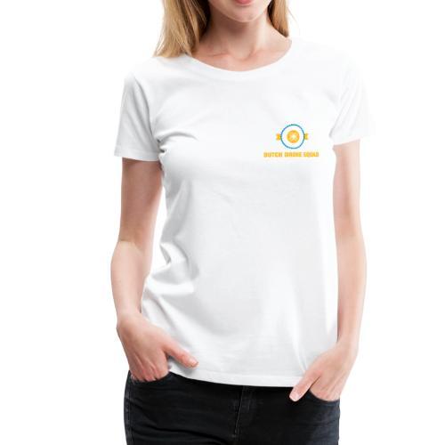 DDS Vrouw   T-shirt wit - Vrouwen Premium T-shirt