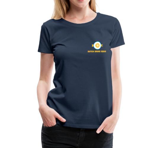 DDS Vrouw   T-shirt navy - Vrouwen Premium T-shirt