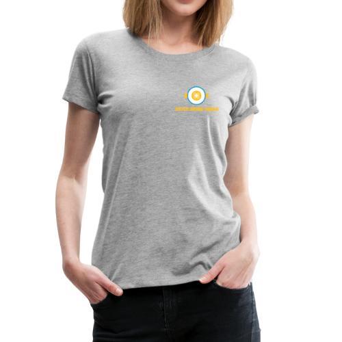 DDS Vrouw   T-shirt grijs - Vrouwen Premium T-shirt