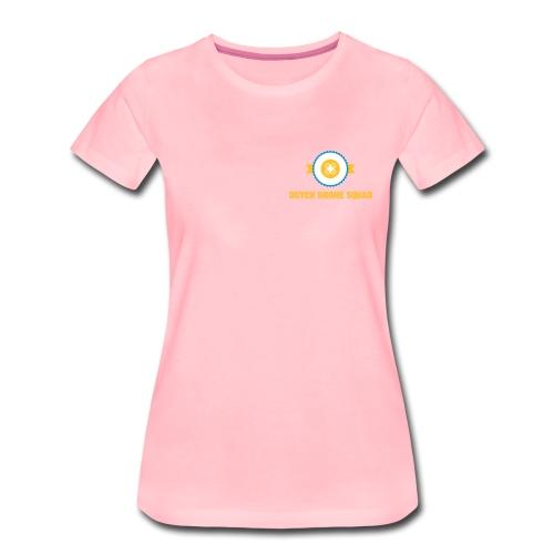 DDS Vrouw | T-shirt roze - Vrouwen Premium T-shirt