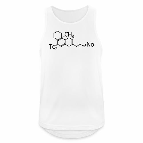 Techno Molekül - Tank Top - Männer Tank Top atmungsaktiv