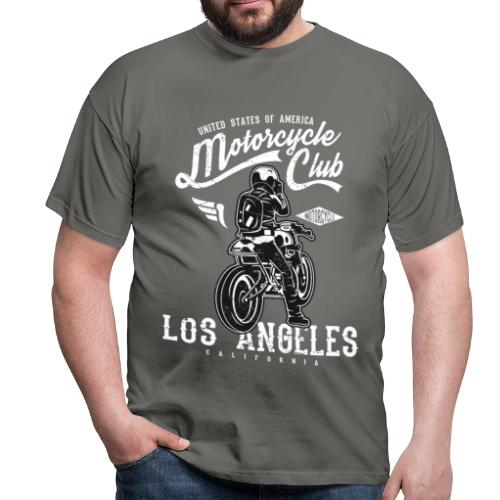 Motorcycle Club Los Angeles California - Camiseta hombre
