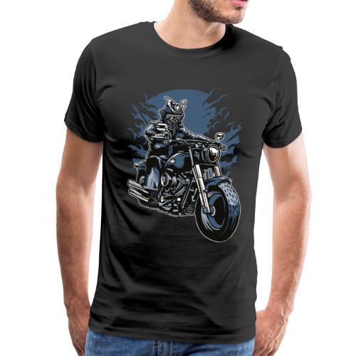 Motero Samurai - Camiseta premium hombre