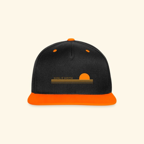 sunset cap colour - Contrast Snapback Cap
