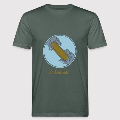 de Andrade Crest - Männer Bio-T-Shirt