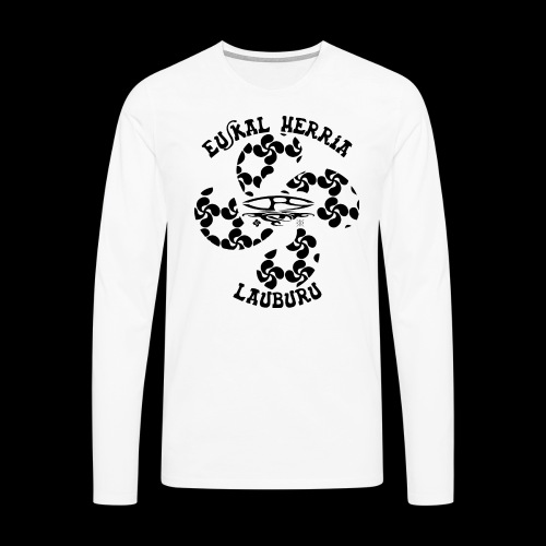 TEE-SHIRT HOMME NEW LAUBURU - T-shirt manches longues Premium Homme