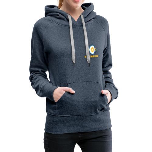 DDS Vrouw | Hoodie jeansblauw - Vrouwen Premium hoodie