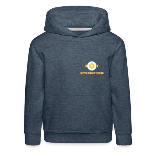 DDS Kind | Hoodie jeansblauw - Kinderen trui Premium met capuchon