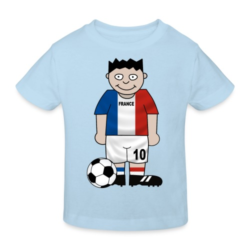 Football France enfants - Kids' Organic T-Shirt