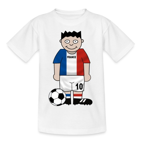 Football France enfants - Kids' T-Shirt