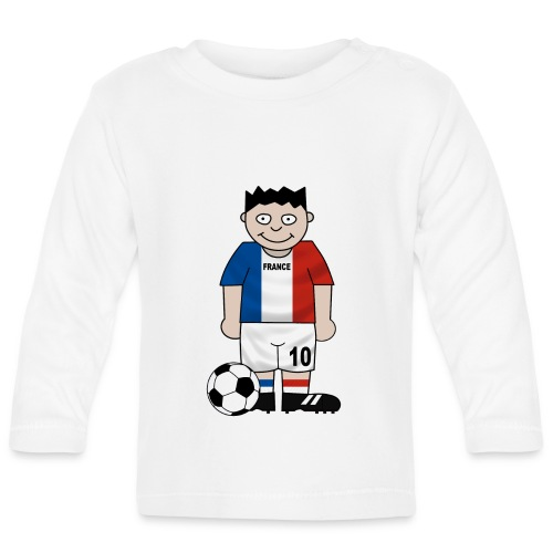 Football France enfants - Baby Long Sleeve T-Shirt