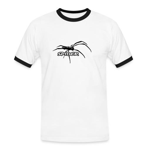 T-Shirt Spider - Männer Kontrast-T-Shirt