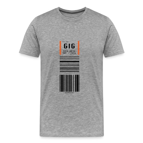 Flughafen Rio de Janeiro - Galeão GIG - Männer T-Shirt - Männer Premium T-Shirt