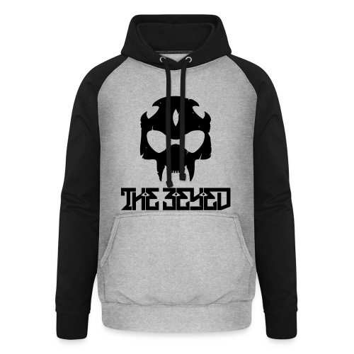 NEW The 3Eyed 2 Colour Hoodie - Unisex Baseball Hoodie