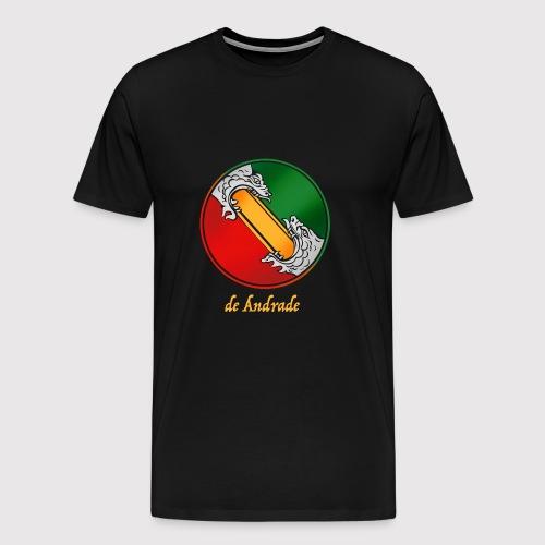 de Andrade Crest - Männer Premium T-Shirt