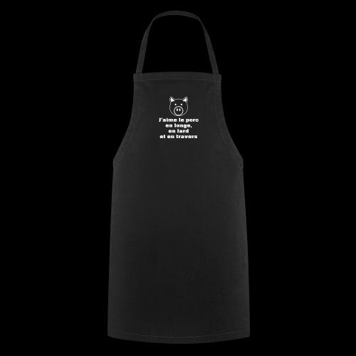 Longe lard travers vectoriel - Tablier de cuisine