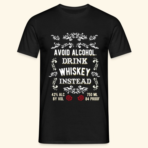 Cool Whiskey Shirt  - Männer T-Shirt