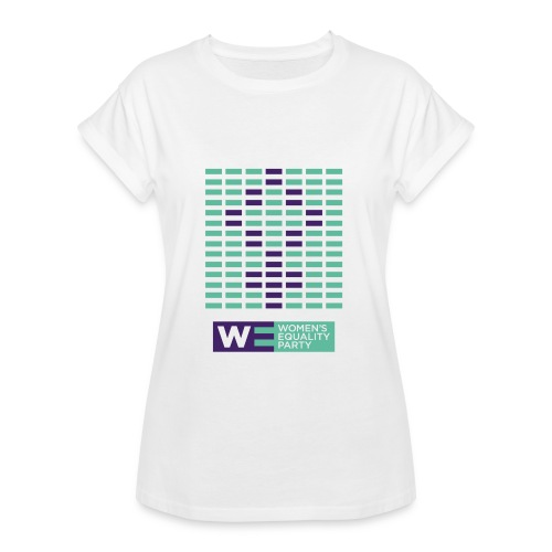 Equal representation relaxed fit tee - Women's Oversize T-Shirt