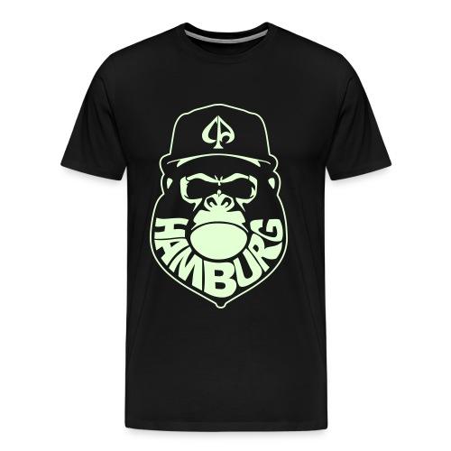 Black/Glow - Männer Premium T-Shirt