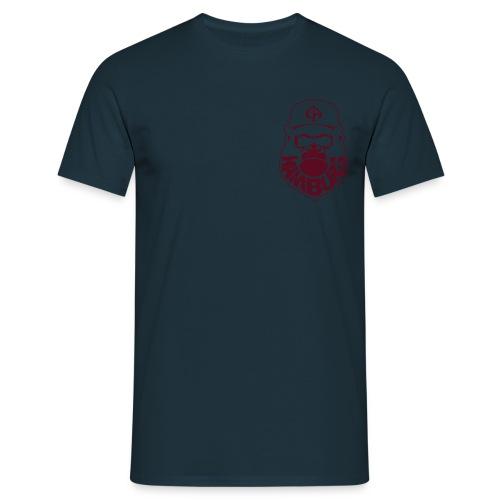 Navy/Maroon - Männer T-Shirt